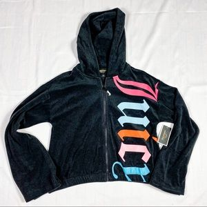 NWT Juicy Couture Gothic Track Jacket Size Large